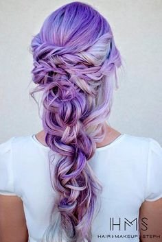 You need to see these stunning purple hair ideas for braiding if you want to keep up with the hair trends and be creative.