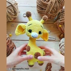 Amigurumi pattern giraffe Crochet pattern giraffe Crochet giraffe This is an 29 pages PDF pattern (with step by step photos) - Available in ENGLISH (US terms) + 9 video. The pattern contains a textual Crochet Giraffe Pattern, Crochet Animal Patterns, Stuffed Animal Patterns, Crochet Patterns Amigurumi, Crochet Animals, Crochet Dolls, Crochet Baby, Diy Crochet, Crochet Horse