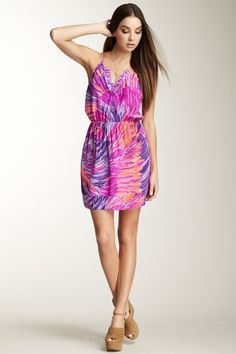 Alice & Trixie Bridgette Silk Racerback Dress by Labels We Love on @HauteLook