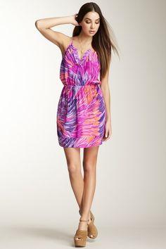 Bridgette Silk Racerback Dress » What a great name! :)