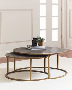 Ginny Nesting Coffee Tables. #ad http://shopstyle.it/l/quXh