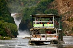 Uganda - Murchison Falls -- Boat safari on the Nile River!!  Book your trip direct for less with a reputable local company - Contact Uganda specialists Pearl of Africa Tours and Travel on Tel: +256 (0)312 260559, E: info@pearlofafricatours.com, Web: www.pearlofafricatours.com