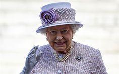 Télécharger fonds d'écran Elizabeth II, Reine de Grande-Bretagne, portrait, sourire, royaume-Uni, Elizabeth Alexandra Mary