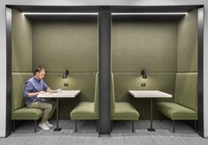 McDonald's, a global foodservice retailer with over locations worldwide, recently reached out to interior design firms Studio O+A and IA Interior Office Interior Design, Office Interiors, Beaux Arts Lyon, Booth Seating, Workplace Design, Co Working, Commercial Interiors, Design Firms, Studio