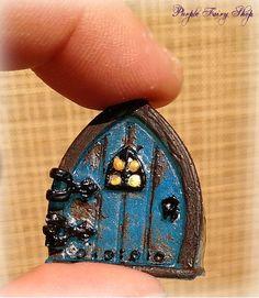 Tiny Fairy Door, Terrarium Miniature, Fairy Garden, Miniature Fairy Garden, Fairy Garden Furniture, Fairy Garden Supplies, Gnome Door