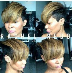 35 New Short Cups To Try For This Winter Here is a nice collection of Winter New Hairstyle Trends short haircuts that you must test immediately, our site offers you every time the best cutting Dope Hairstyles, My Hairstyle, Short Sassy Hair, Short Hair Cuts, Pixie Cuts, Love Hair, Great Hair, Curly Hair Styles, Natural Hair Styles