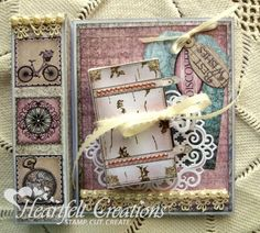 Heartfelt Creations | Treat Box Card