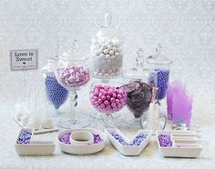 How To DIY Your Own Candy Buffet On The Cheap