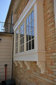 Exterior Window Trim Brick window trim dryvit | storefront ideas | pinterest | window trims