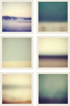 blurred landscapes