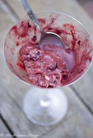 Clean Eating Cherry Almond Ice Cream -- uses the Yonanas machine, which I bought for Christmas and it is wonderful way to treat yourself to something healthy and delicious.