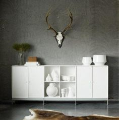 ABC-reoler Buffet, Danish Furniture, Scandinavian Home, Storage Solutions, Sideboard, Montana, Design, Home Decor, Glass Display Case