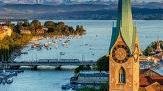 Zurich - Switzerland's trend-setting city.