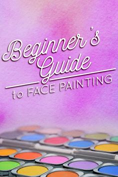 Ultimate Face Painting Tutorial for Beginners In this Guide you will find everything you need to know about STARTING OUT FACE PAINTING. From supplies to technique, to proper safety practices and EVERYTHING in between… this Guide will get you well on your way to creating stunning designs you may not have known you were capable of! ❤️