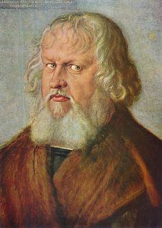 Albrecht Dürer - Portrait of Hieronymus Holzschuher - 1526 - oil on linden wood - 51 × 37 cm (20.1 × 14.6 in)