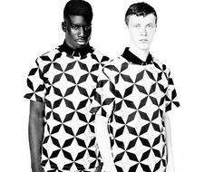 SALE Mens Shirt Mens printed shirt mens blue by EliranNargassi