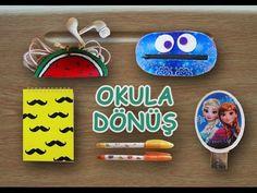 Likit Kalemlik, Okula Dönüş - DIY Liquid Pencilcase - Harika bir kendinyap projesi - YouTube