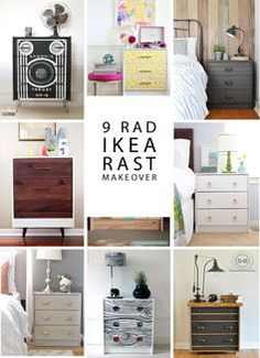 how to hack your IKEA Rast dresser.