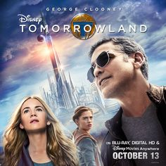 Travel to a place where anything is possible. #Tomorrowland will be available on Blu-ray, Digital HD & Disney Movies Anywhere Oct 13. Pre-order: di.sn/6009BH6g3 Blu Ray Movies, New Movies, Disney Movies, Pixar Movies, Family Movies, Disney Pixar, Walt Disney, Britt Robertson, Hugh Laurie