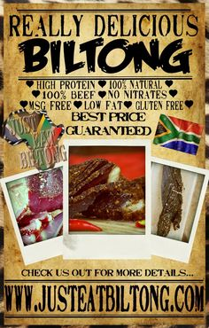 Looking to lose weight this 2013? Add biltong to your diet. This low fat -protein powerhouse will keep you full and stop you from overeating.
