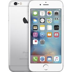 Apple iPhone 6s 64GB Silver (AT&T) ($25) ❤ liked on Polyvore featuring accessories and tech accessories