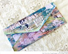 Mail art : recycled envelope