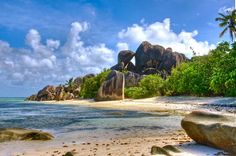 Seychelles  The idyllic Seychelles are also largely safe for travellers. These islands in the Indian Ocean may not be what first springs to mind when you think of Africa, but they do indeed belong to the African continent. Seychelles is a popular, peaceful and safe holiday destination. There are good relations between the citizens and the government and the state's affairs are generally well run.