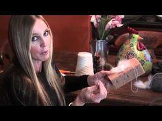 Namaste Farms: How to spin Daisy yarn: angora bunny yarn