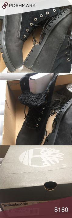 Women Timberland Black US 6, EU 37, JP 23, UK 4 Bought in Germany. Never been worn. Shoe is too small and cannot be returned because I'm no longer in Germany. Paid 200 euro. Timberland Shoes Sneakers