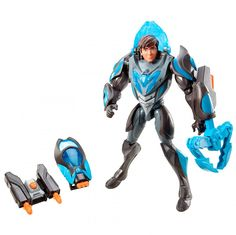 Max steel reboot team turbo armor claw toy