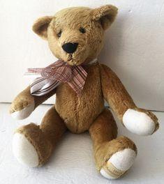 "Yoshitoku Tokyo 100th Anniversary Tan Jointed Mohair Teddy Bear GERMANY 16"" #YoshitokuTokyo"