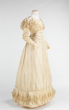 MET Wedding Dress American 1824 Regency Wedding | Ladies From Other Centuries