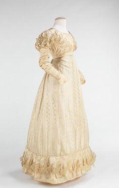 Lovely MET Wedding Dress American Regency Wedding Ladies From Other Centuries