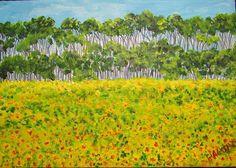 GALERIA PALOMO MARIA LUISA: MAR DE GIRASOLES Vineyard, Outdoor, Sunflowers, Paintings, Fotografia, Outdoors, Outdoor Games, Outdoor Living