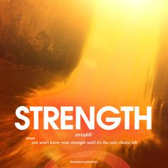 Strength #awakeningfighters