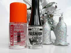 EVA mosaic Fashion color #053 & EVA mosaic Nail Care Glass Shine \ Сушка закрепитель Зеркальное сияние. #white lacquer#белый лак