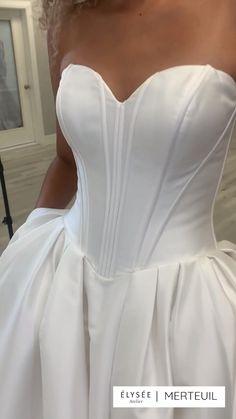 Top Wedding Dresses, Wedding Gowns, Elegant Modern Wedding, Bridal Corset, Dress Up Outfits, Fantasy Dress, Timeless Elegance, Modern Minimalist, Ball Gowns