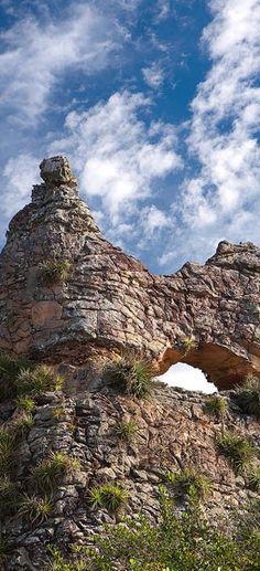 Pedra do Camelo, Quinta Cidade, Sete Cidades, Piaui - Brazil