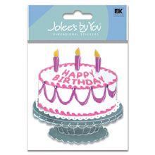 Extravagant Cake Stickers - Jolees Boutique
