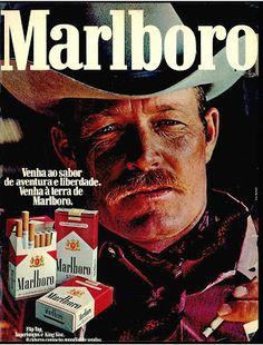 Anúncio cigarros Malboro - 1975 Vintage Advertisements, Vintage Ads, Free Coupons By Mail, Vintage Cigarette Ads, Malboro, Nostalgia, Marlboro Cigarette, Marlboro Man, Cigar Smoking