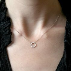 Catherine Masi - Sterling Silver Circle necklace