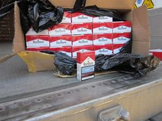 Incautadas 465.500 cajetillas de tabaco de contrabando procedente de China