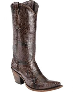 Lucchese Handcrafted 1883 Andrea Cowgirl Boots - Snip Toe