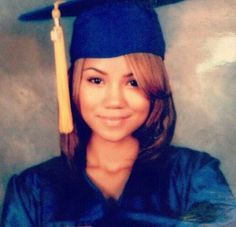 Jhené Aiko throwback - MY World Jhene Aiko Birthday, Jhene Aiko Tattoos, Beyonce Braids, Throwback Pictures, Cap And Gown, Big Sean, Photo Makeup, Braided Updo, Female Singers
