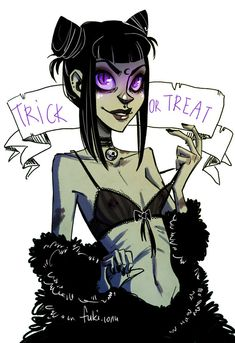 trick or treat by Fukari.deviantart.com on @deviantART