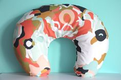 Coral Jubilee Boppy Cover // made to order