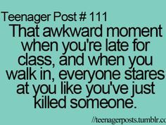 Everyone must have had this experience lol