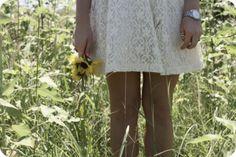 flowers + lace