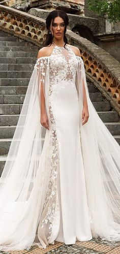 1d96c231cea 74 Great Dramatic Wedding Dresses images in 2019