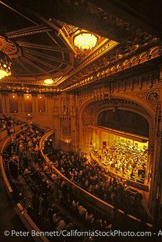 San Diego Symphony Orchestra, Jahja Ling Conductor, Copley Symphony Hall, San Diego, California (SD)
